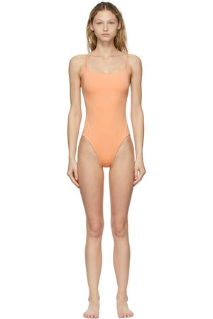 BONDI BORN Rose One-Piece Swimsuit