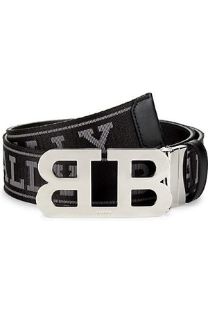 Bally Mirror B Buckle Reversible Belt