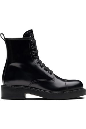 Prada Women Ankle Boots - Lace-up ankle boots