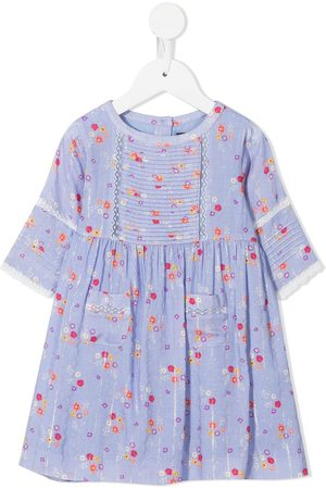 Velveteen Baby Casual Dresses - Callie floral-print dress