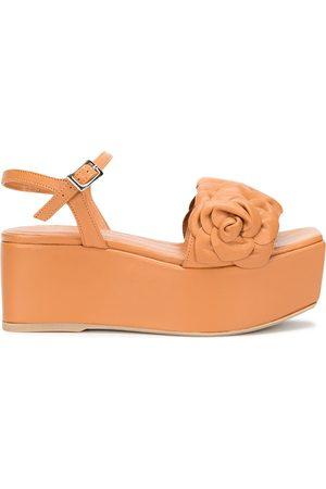 Madison.Maison Flower platform sandals