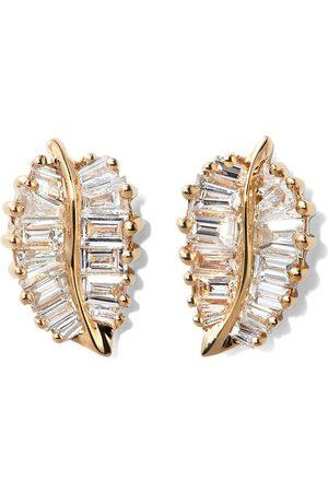 Anita Women Earrings - Palm Lead diamond earrings