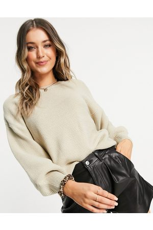 Onzie Knitted sweatshirt in sand-Neutral