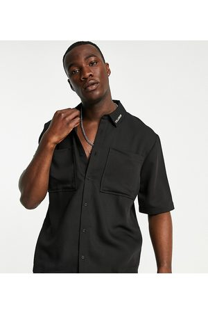 COLLUSION Short sleeve boxy shirt co-ord in