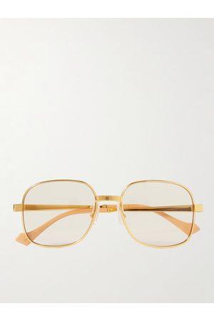 Gucci Men Sunglasses - Round-Frame -Tone Sunglasses
