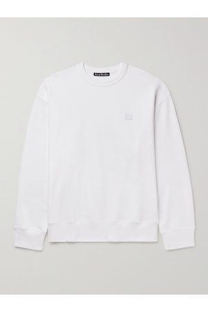 Acne Studios Forba Oversized Logo-Appliquéd Loopback Cotton-Jersey Sweatshirt