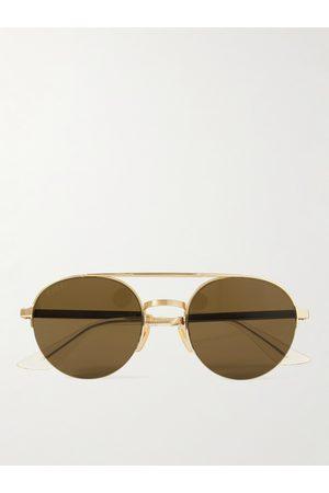 Gucci Men Sunglasses - Aviator-Style -Tone Sunglasses