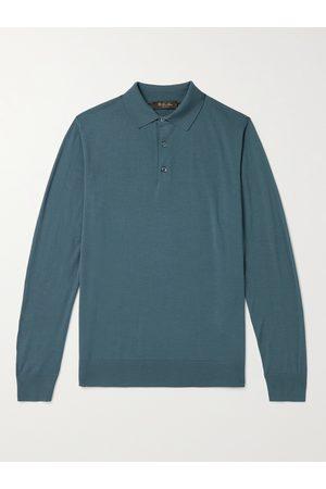 Loro Piana Wish Virgin Wool Polo Shirt