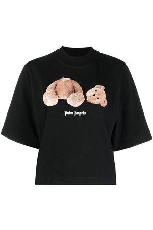 Palm Angels Women T-shirts - Bear-motif T-shirt