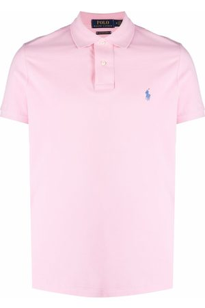 Polo Ralph Lauren Men Polo Shirts - Embroidered-logo short-sleeved polo shirt