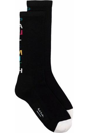 Paul Smith Men Socks - Logo-intarsia socks