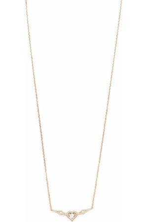 Feidt Paris 9kt yellow Pace e Amore sapphire necklace