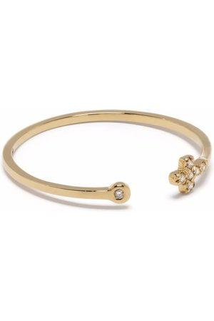 Feidt Paris Women Rings - 18kt yellow In The Moon For Love diamond cross ring