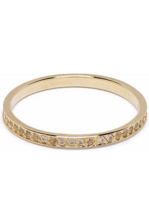 Feidt Paris 9kt yellow Antik sapphire wedding ring
