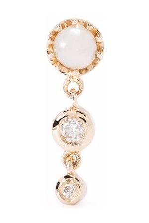 Maria Black Women Earrings - 14kt yellow diamond Lustre stud earring