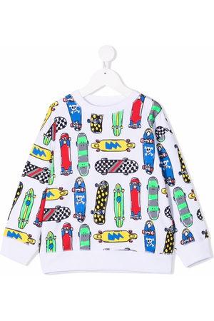 Stella McCartney Skateboard-print sweatshirt
