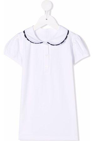 SIOLA Boys Polo Shirts - Contrast-trim cotton polo shirt