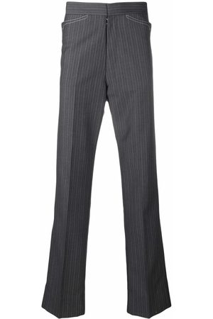 Maison Margiela Pinstripe tailored trousers