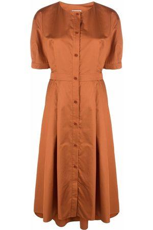 12 STOREEZ Women Party Dresses - Button-down flared dress