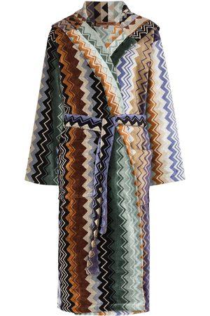 Missoni Women Bathrobes - Giacomo belted hooded bathrobe