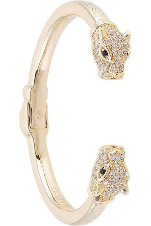 Nialaya Diamond embellished CZ Panther bangle