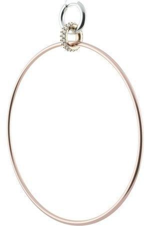 SPINELLI KILCOLLIN 18kt diamond pave Altaire 3-drop hoop earrings