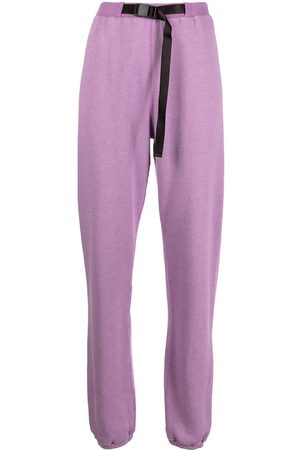 JOHN ELLIOTT Women Pants - Belted vintage fleece track trousers