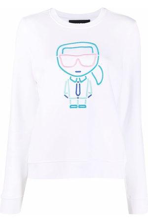 Karl Lagerfeld Ikonik Outline cotton sweatshirt