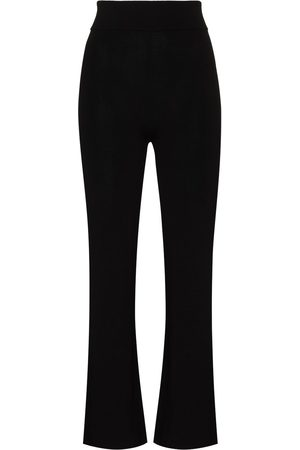 St Agni Thea knitted wide-leg trousers