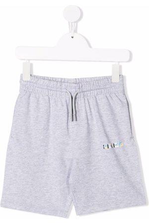 Kenzo Logo-embellished jersey shorts