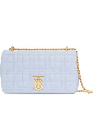 Burberry Women Shoulder Bags - Small quilted Lola crossbody bag