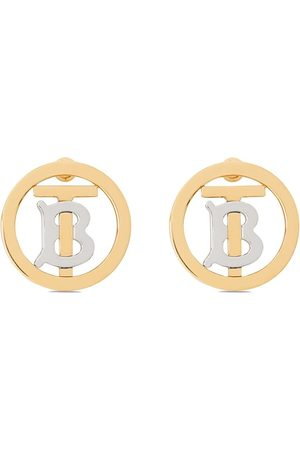 Burberry Monogram motif earrings