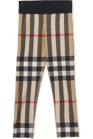 Burberry Vintage Check stretch-fit leggings