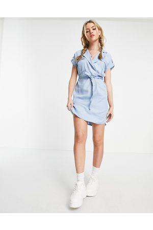 Noisy May Women Casual Dresses - Shirt dress in light