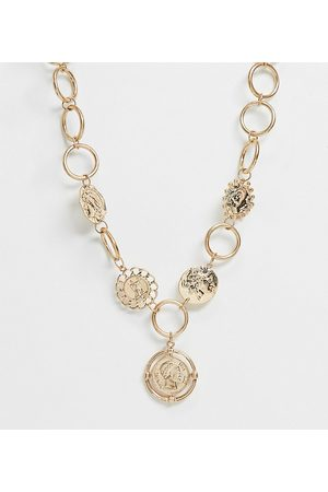 South Beach Chunky coin necklace in
