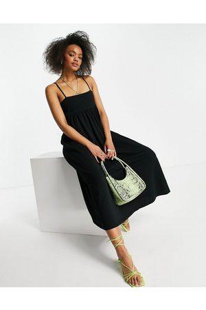 ASOS Cami midi dress with square neck in