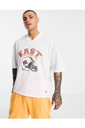ASOS Oversized t-shirt with East Mississipi print in