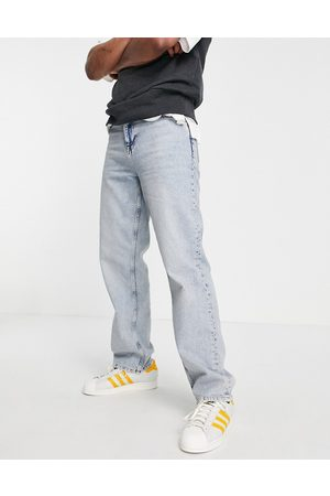 ASOS Men Straight - Relaxed jeans in light wash