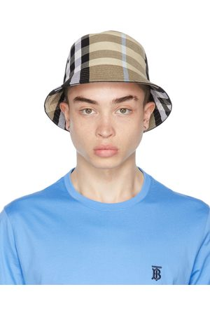 Burberry Cotton Check Bucket Hat