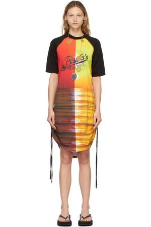 Loewe Multicolor Ruched Sunset Dress