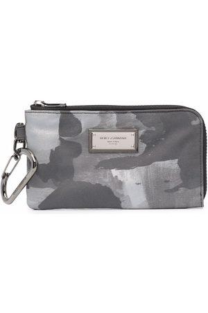Dolce & Gabbana Men Wallets - Printed zip-around wallet