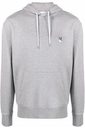 Maison Kitsuné Sweatshirts - Logo drawstring hoodie