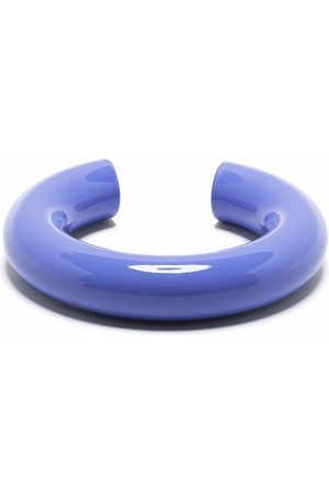UNCOMMON MATTERS Women Bracelets - Swell large cyclinder bangle