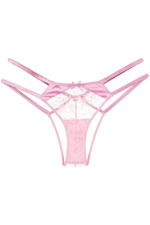 FLEUR DU MAL Women Briefs - Lace-detail tanga