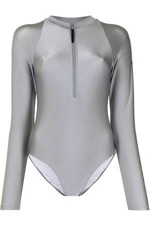 Perfect Moment Women Swimwear - Spring logo-print surf suit