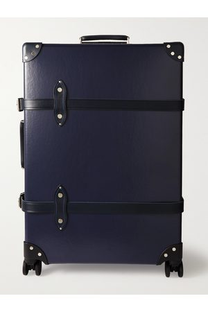 Globetrotter Centenary 30 Leather-Trimmed Trolley Case""
