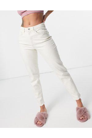 ONLY Veneda mom jeans in ecru