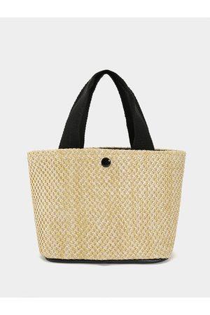 YOINS Hand-held Straw Woven Clutch Bag