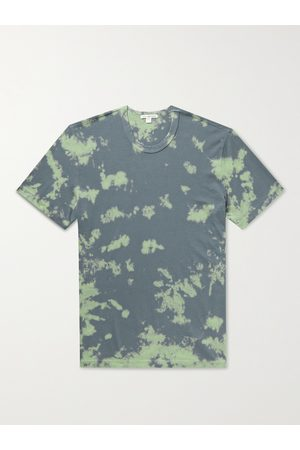 JAMES PERSE Men T-shirts - Bleached Combed Cotton-Jersey T-Shirt