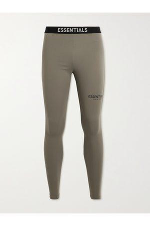 FEAR OF GOD ESSENTIALS Logo-Print Stretch-Jersey Sweatpants